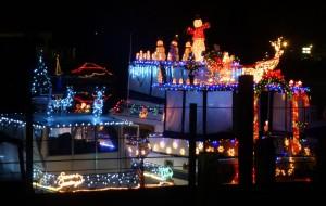 Petaluma Lighted Boat Parade