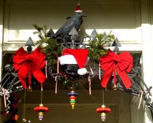 Petaluma Halloween Santa