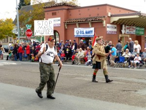 Veteran's Day Parade: Stop mass murder