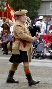 Veteran's Day Parade: Bag pipes