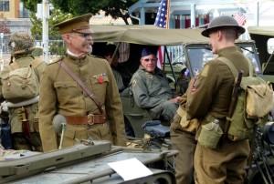 Veteran's Day Parade: World War I and II