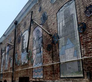 Petaluma - American Alley murals