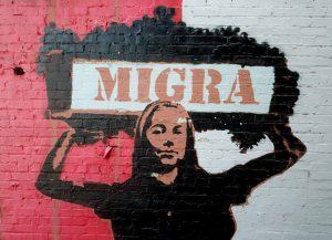 American Alley Murals: Migra