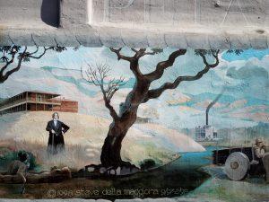 della Maggiora mural detail: Mariano Vallejo